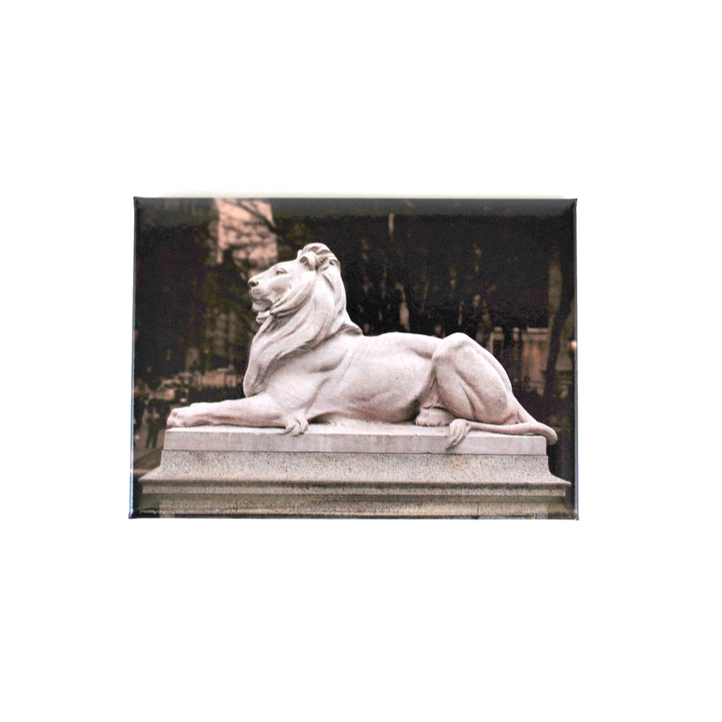 Lion Magnet - The New York Public Library Shop