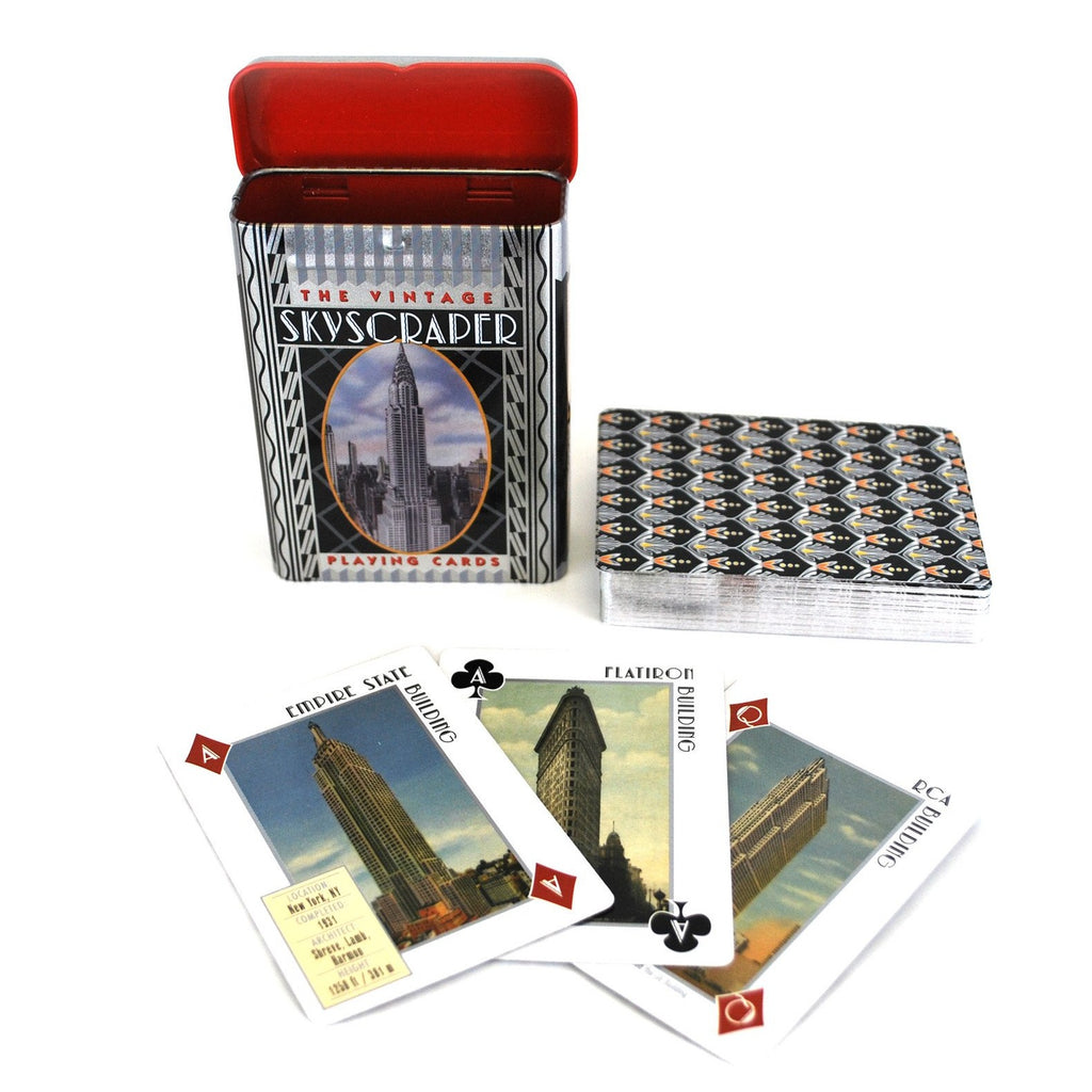 New York City Skyscraper Card Deck