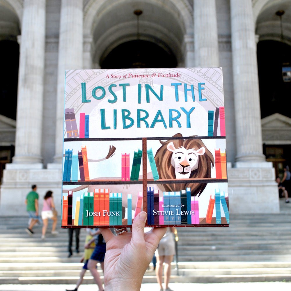 Lost in the Library: A Story of Patience & Fortitude - The New York Public Library Shop