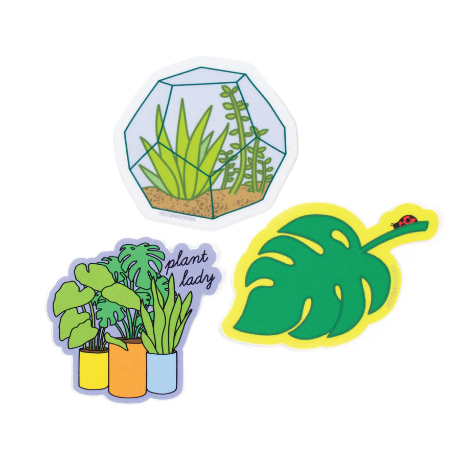Plant Lover Sticker Set