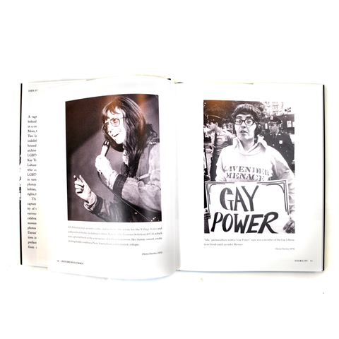 Book features different pictures from the protests.
