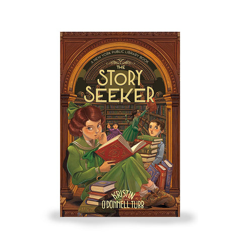 Pre-order: The Story Seeker: A New York Public Library Book