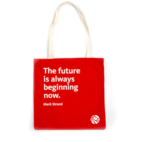 NYPL Mark Strand Tote Bag