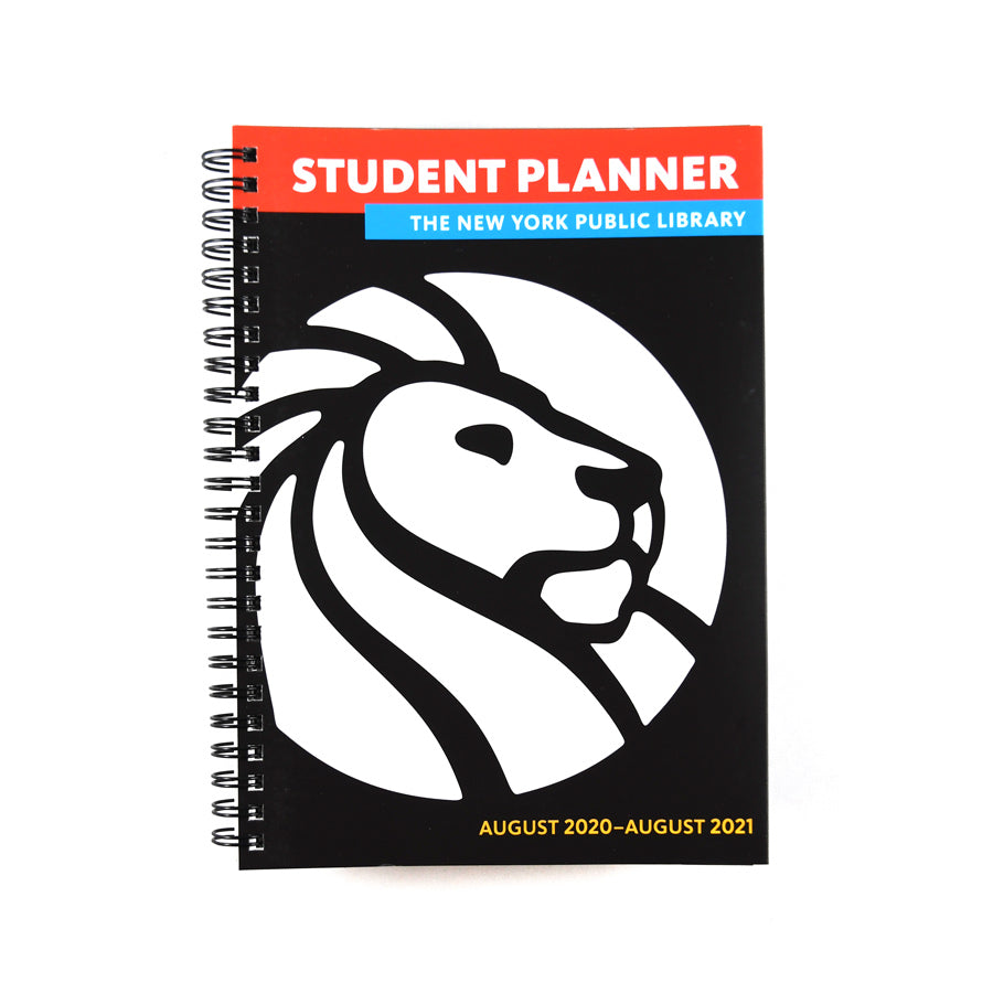 The New York Public Library 2020- 2021 Student Planner