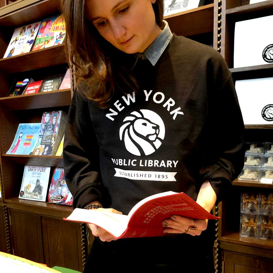 NYPL 1895 Sweatshirt - The New York Public Library Shop