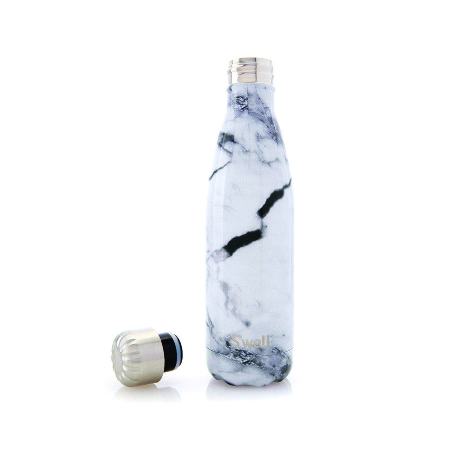 Marble Stainless Steel Water Bottle - The New York Public Library Shop