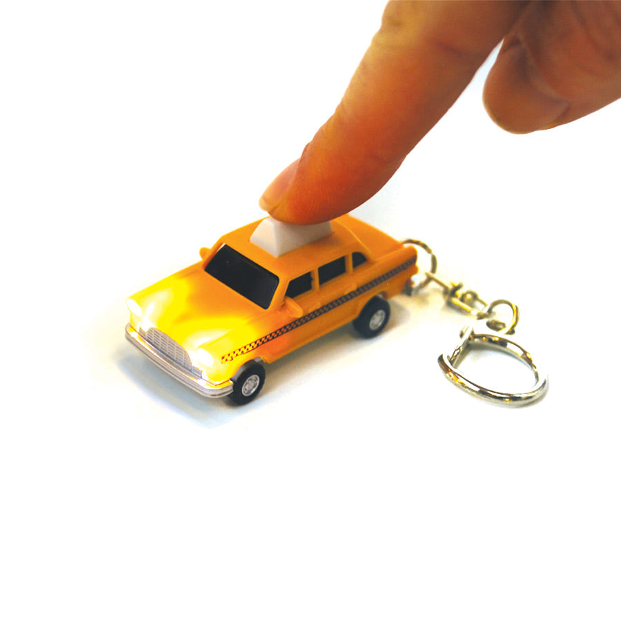 Taxi LED Keychain - The New York Public Library Shop