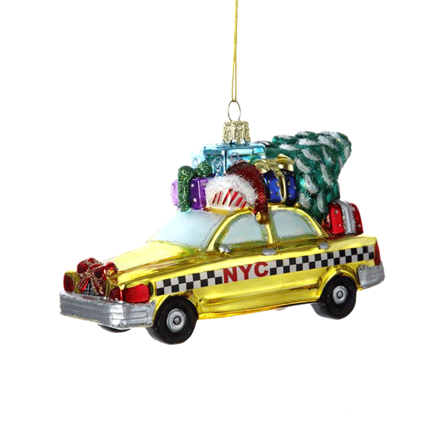 New York City Taxi Ornament