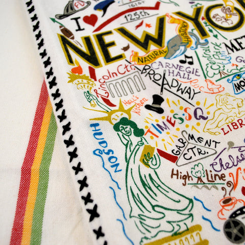 New York Dish Towel - The New York Public Library Shop
