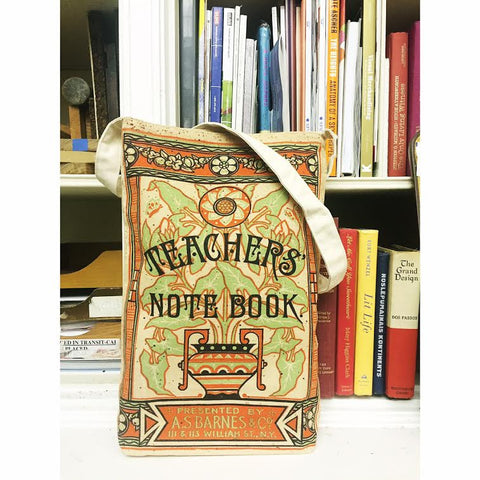 Teacher's Notebook Tote Bag - The New York Public Library Shop