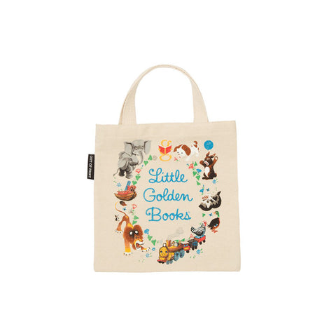 Mini Little Golden Tote Bag