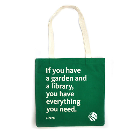 NYPL Cicero Tote Bag - The New York Public Library Shop