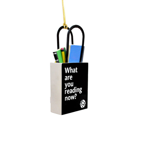 Library Tote Bag Ornament - The New York Public Library Shop