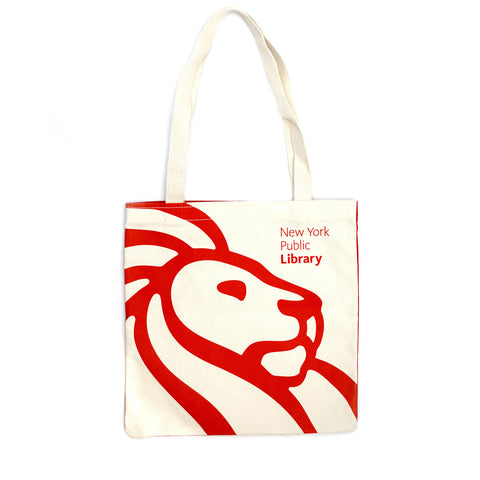 NYPL Mark Strand Tote Bag - The New York Public Library Shop