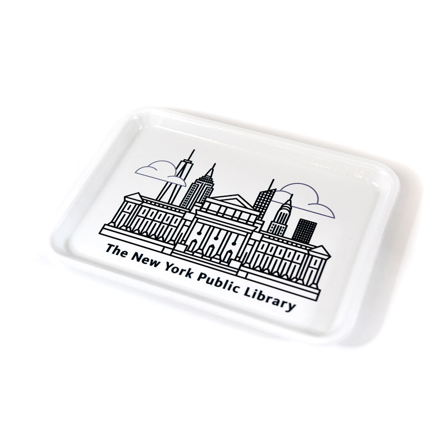 NYPL Library Building Tray - The New York Public Library Shop