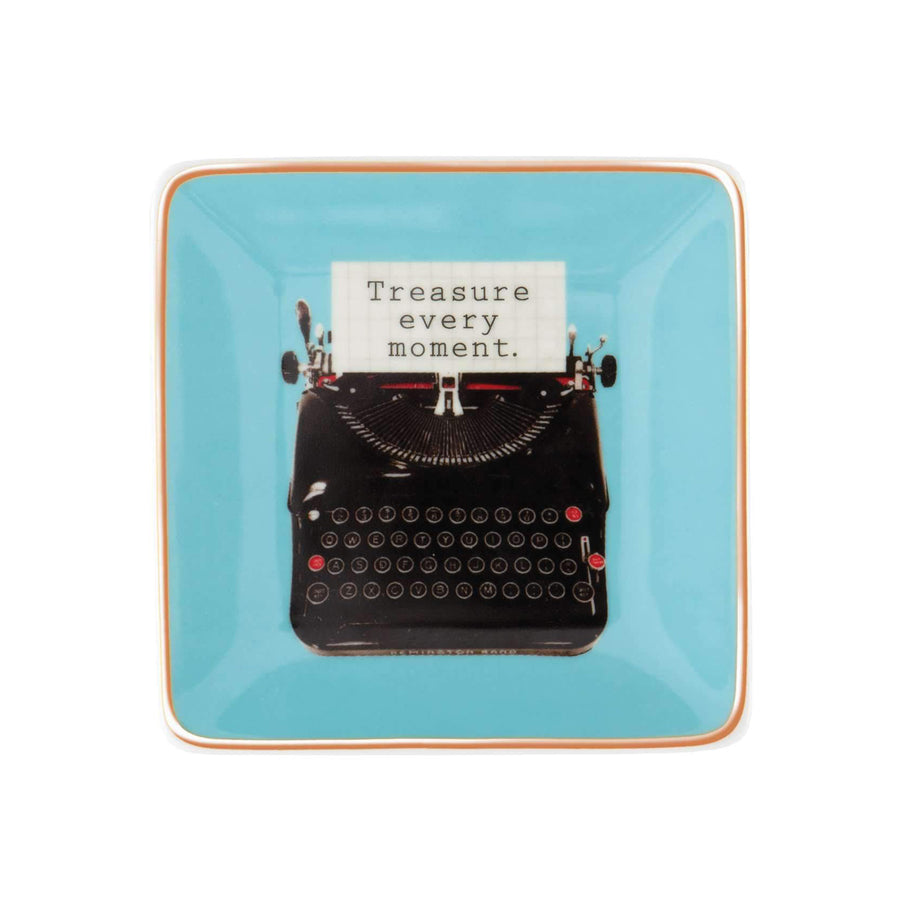 Typewriter Porcelain Tray - The New York Public Library Shop