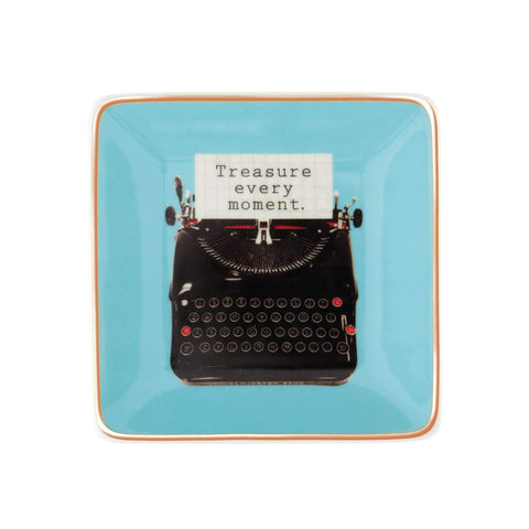 Typewriter Porcelain Tray