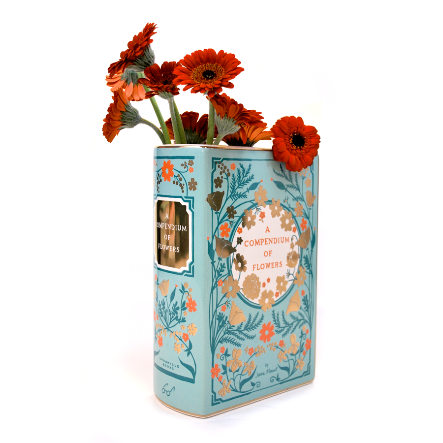 Bibliophile Ceramic Vase LARGE - The New York Public Library Shop