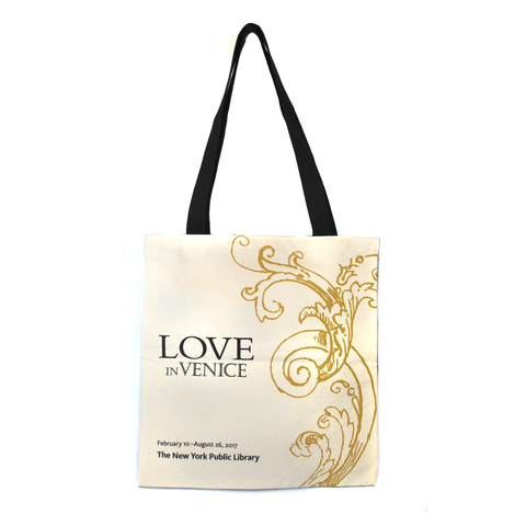 Love in Venice Exhibition Tote - The New York Public Library Shop
