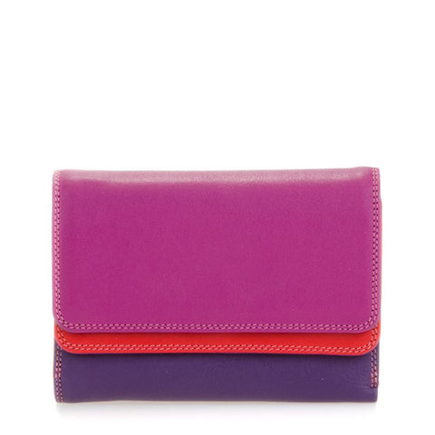 Double Flap Purse / Wallet: Sangria Mywalit