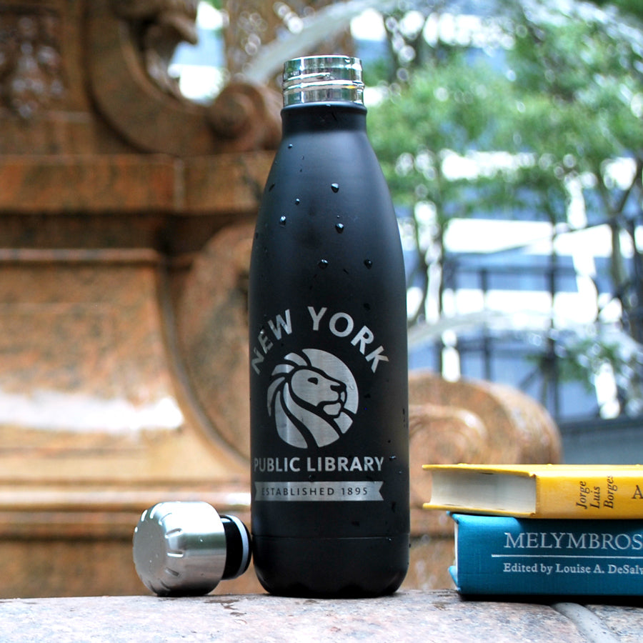 NYPL Stainless Steel Water Bottle