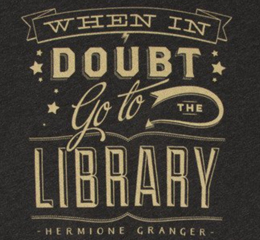 When in doubt go to the library ladies t shirt the new for Librarian t shirt sayings
