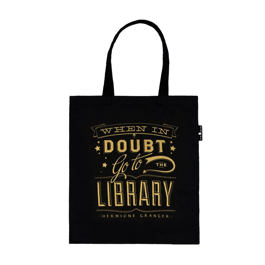 When In Doubt Go To The Library Tote Bag - The New York Public Library Shop