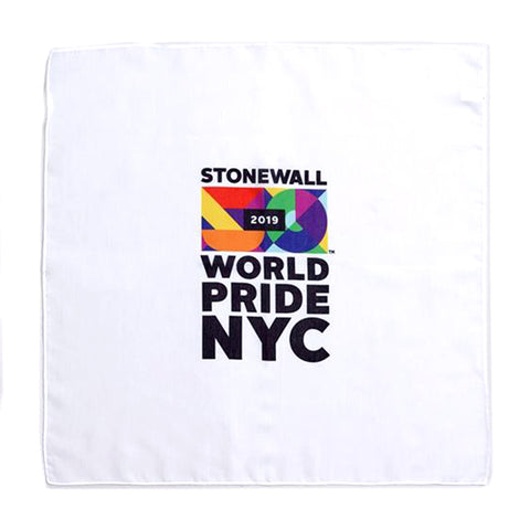 White World Pride Bandana