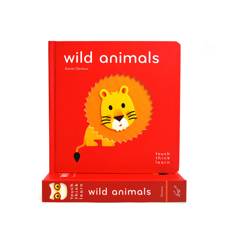 TouchThinkLearn: Wild Animals