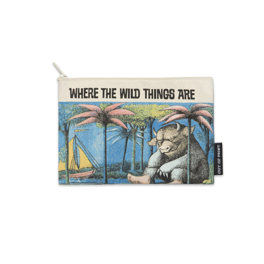 Where The Wild Things Are Pouch - The New York Public Library Shop