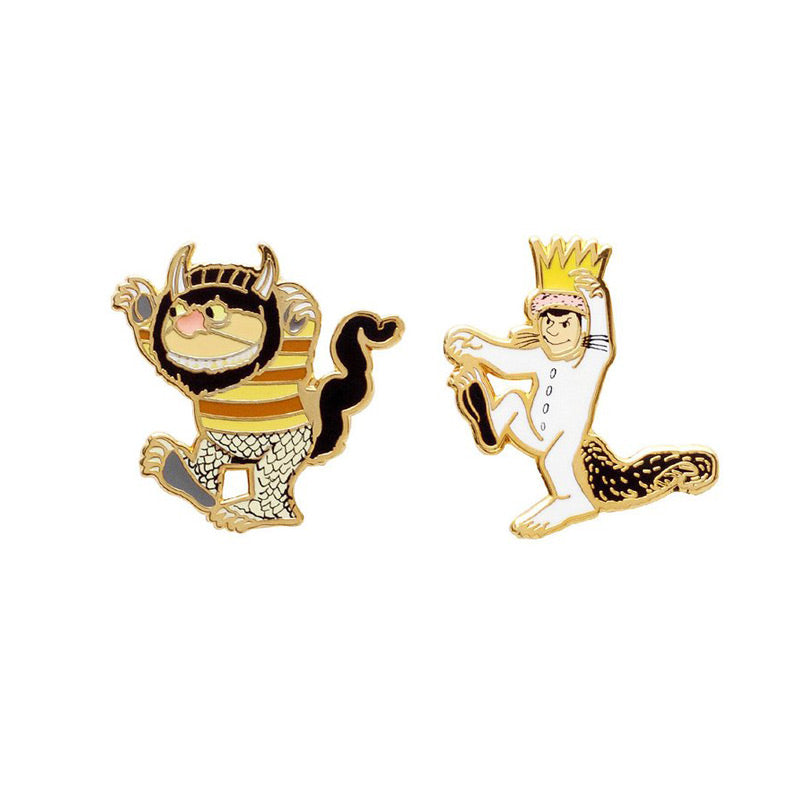 Where the Wild Things Are Pin Set - The New York Public Library Shop