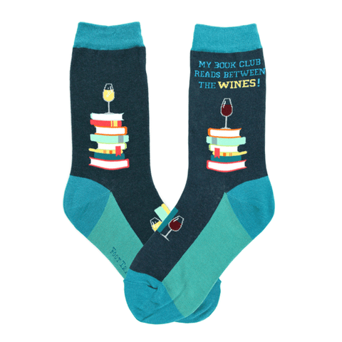 Book Club Wine Socks - The New York Public Library Shop