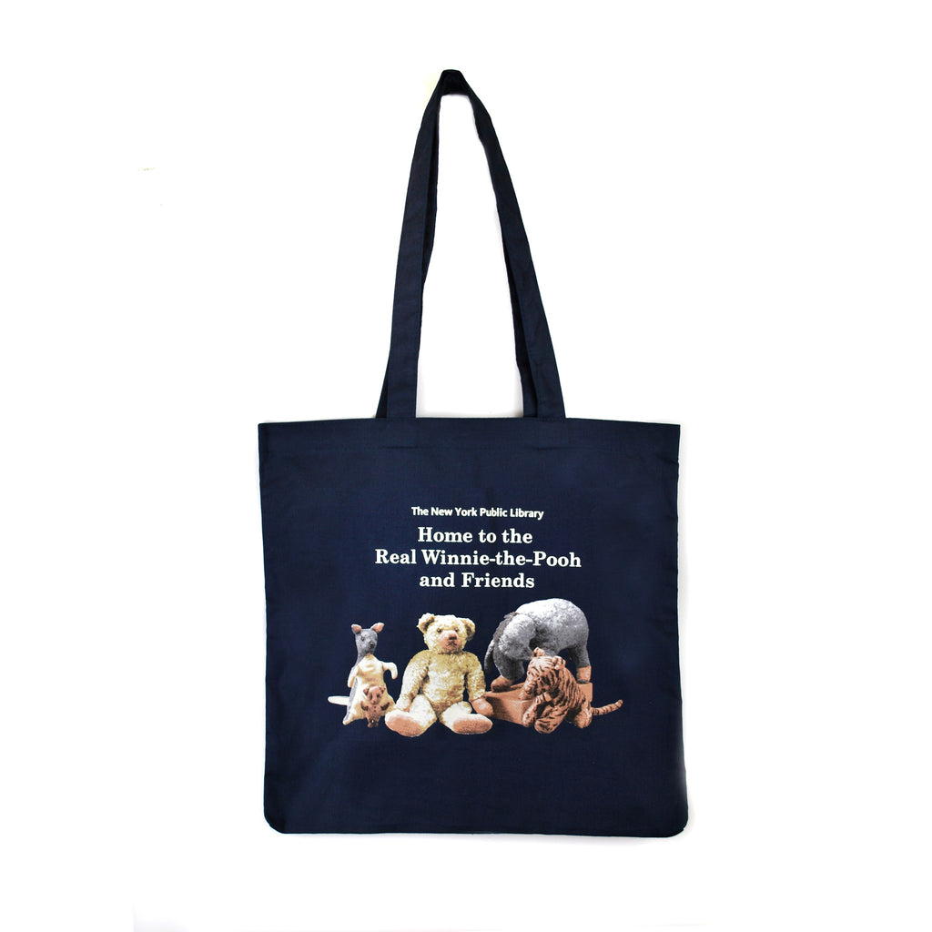 Winnie-the-Pooh and Friends Tote Bag - The New York Public Library Shop