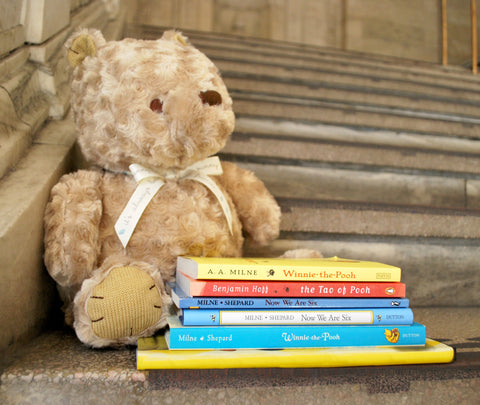 Winnie-the-Pooh Plush - The New York Public Library Shop