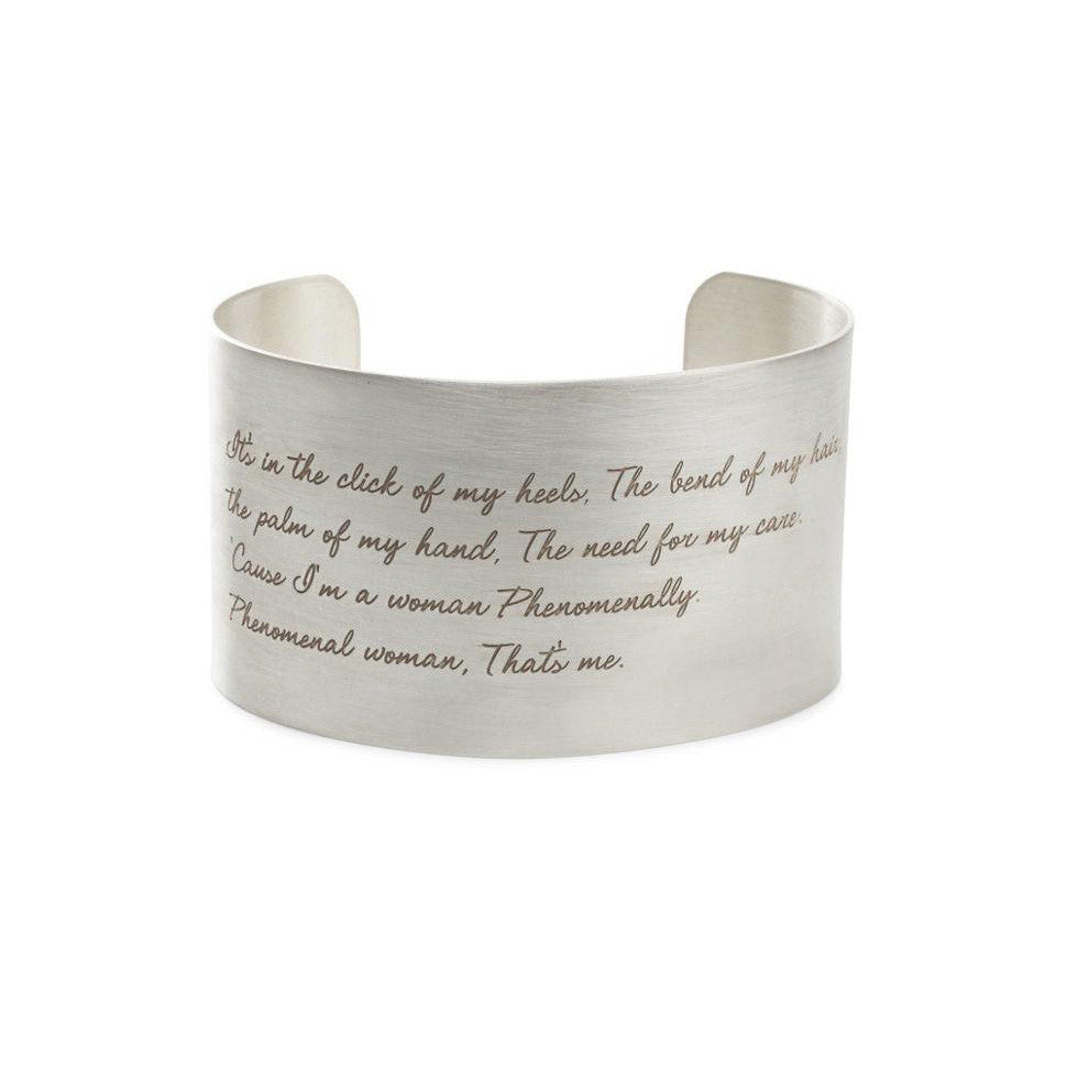 Phenomenal Women Cuff - The New York Public Library Shop