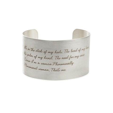 Phenomenal Women Cuff