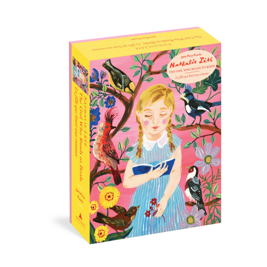 The Girl Who Reads to Birds Puzzle