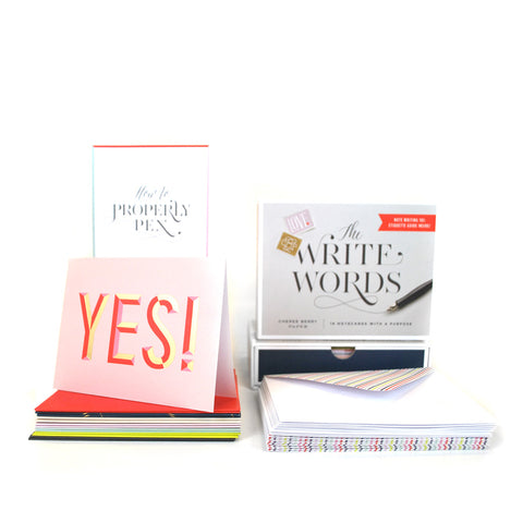 The Write Words: 16 Notecards with a Purpose