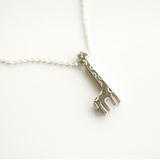 Lovely Giraffe Necklace - 925 Sterling Silver - Owl J  - 2