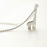 Lovely Giraffe Necklace - 925 Sterling Silver - Owl J  - 3