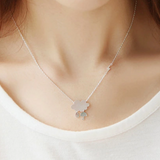 Rainy Day Weather Necklace - 925 Sterling Silver - Owl J  - 5