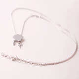 Rainy Day Weather Necklace - 925 Sterling Silver - Owl J  - 2