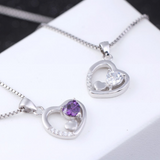 Triple Hearts Necklace - 925 Sterling Silver - Owl J  - 5