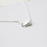 Silver Whale Necklace  - 925 Sterling Silver - Owl J  - 2