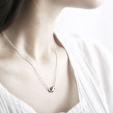 Silver Whale Necklace  - 925 Sterling Silver - Owl J  - 6