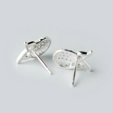 Wise Owl Stud Earrings - 925 Sterling Silver - Owl J  - 2
