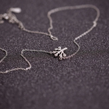 Wish Tree Necklace - 925 Sterling Silver - Owl J  - 2