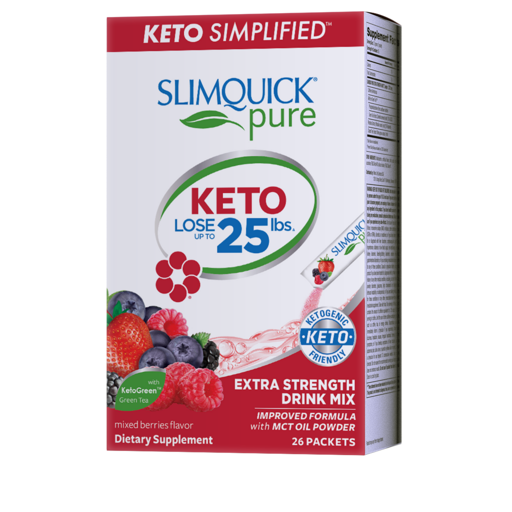 SLIMQUICK® Pure Keto Extra Strength Mixed Berry