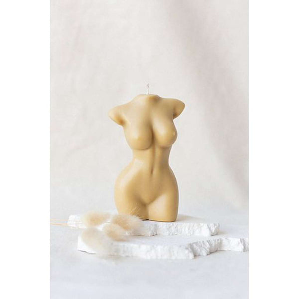 Venus Beige Female Body Candle. Australian Art Prints and Homewares. Green Door Decor. www.greendoordecor.com.au