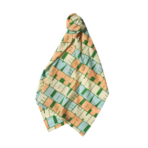 Amora Muslin Wrap by Sage and Clare. Australian Art Prints and Homewares. Green Door Decor. www.greendoordecor.com.au